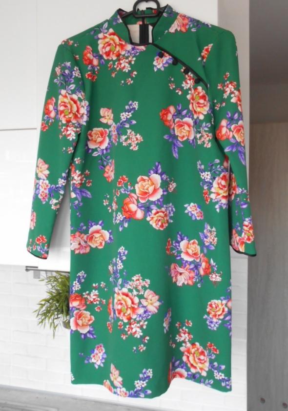 Zara nowa sukienka floral kwiaty print wesele...