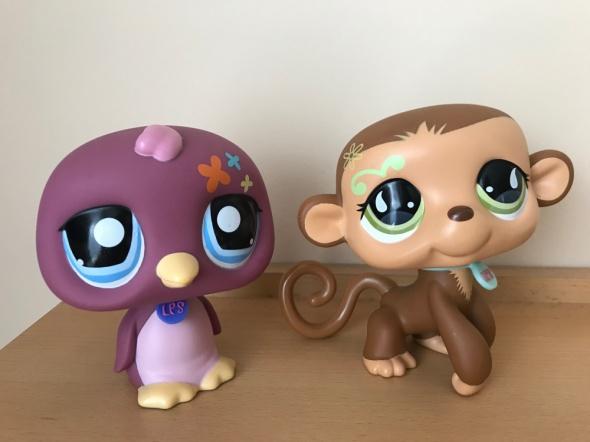oryginalne figurki Littlest Pet Shop LPS