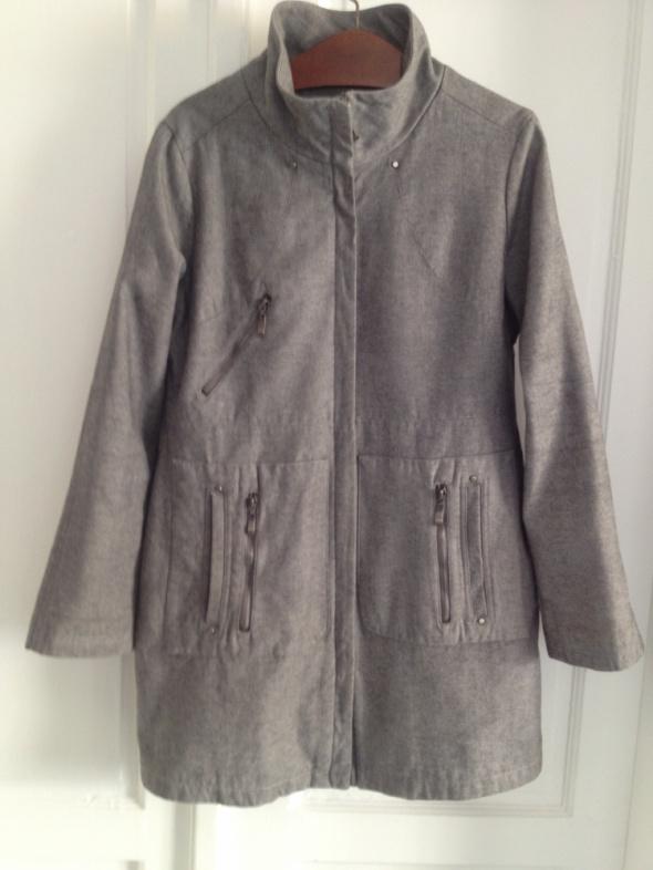 Odzież wierzchnia szary płaszcz płaszczyk MINUS rozm 40
