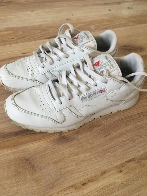 Białe buty Reebok 38