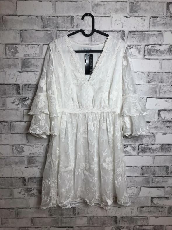 Suknie i sukienki Forever New Koronkowa Sukienka Mini 38 M