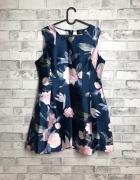 AX Paris Sukienka Mini Floral Print XL 42
