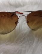 okulary przeciwsłoneczne sepia Mohito...