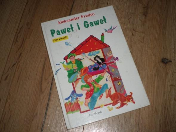 Paweł i Gaweł i inne wierszyki Fredro
