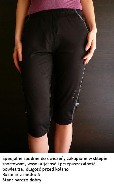 Spodnie spodnie sportowe do ćwiczeń z Norwegii 36 S Active