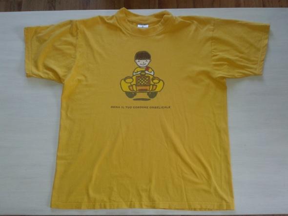 Zółta koszulka 150 M