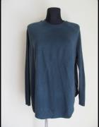 sweter w kolorze pięknej butelkowej zieleni Atmosphere 40 L...