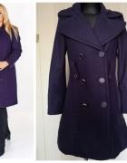fioletowy ciepły płaszcz...