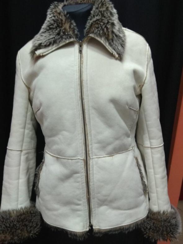 Biały kożuszek futerko Fiorelli 12 40 L