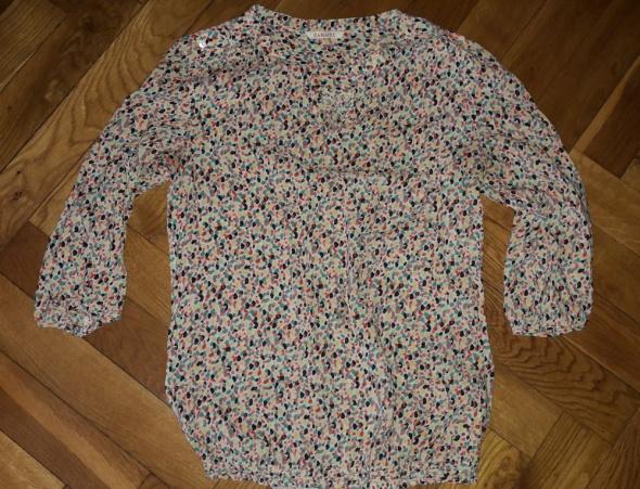 Kolorowa Letnia bluzeczka mgiełka Camaieu M...