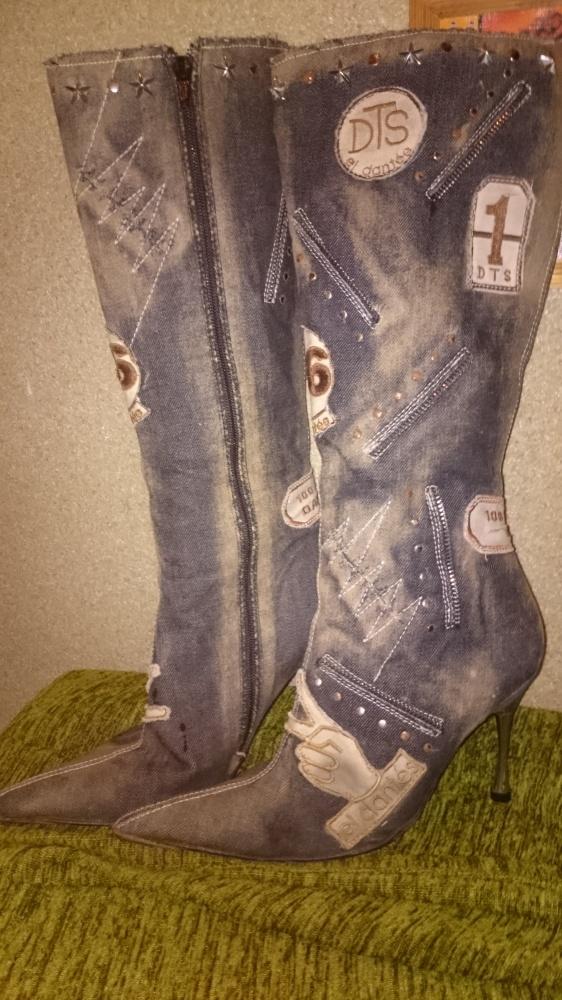Kozaki Oryginalne buty kozaki firmy El Dantes