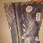 Oryginalne buty kozaki firmy El Dantes
