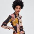 Zara patchworkowa sukienka w łańcuchy nowa z metką