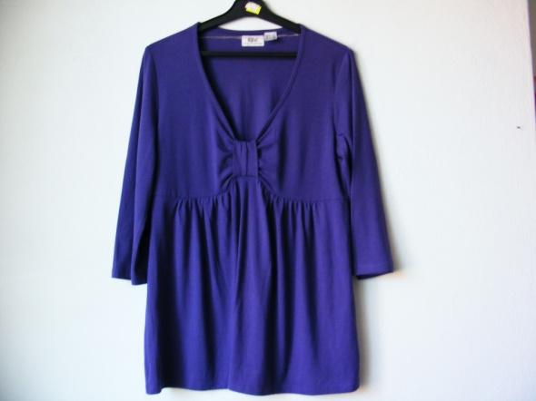 Bluzeczka tunika fioletowa R 40 42