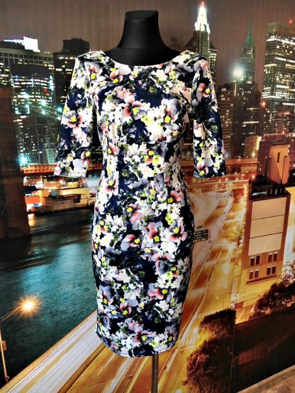atmosphere sukienka midi kwiaty 3d floral hit blog 36 S...