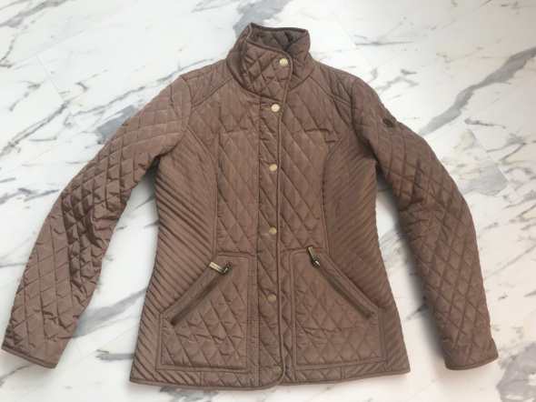 oryginalna pikowana kurtka Michael Kors 36 S...