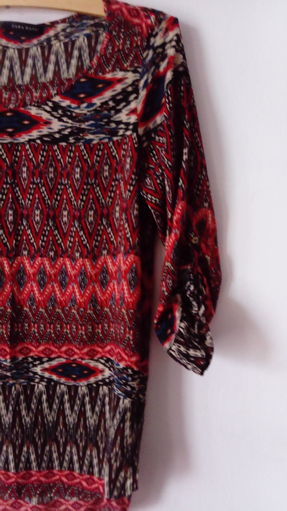 Bluzka tunika ZARA oryginalny wzór świetna jakość