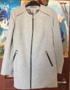 Nowy szary elegancki płaszcz rozmiar 38...