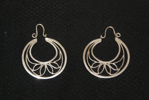 srebrne kolczyki Imago Artis