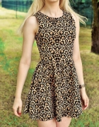 Sukienka by H&M w panterke rozmiar SM...