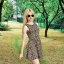 Sukienka by H&M w panterke rozmiar SM