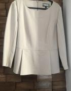 Bezowa elegancka bluzka