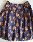 Spódnica spódniczka krótka Medicine granatowa fioletowa XS 34 b...