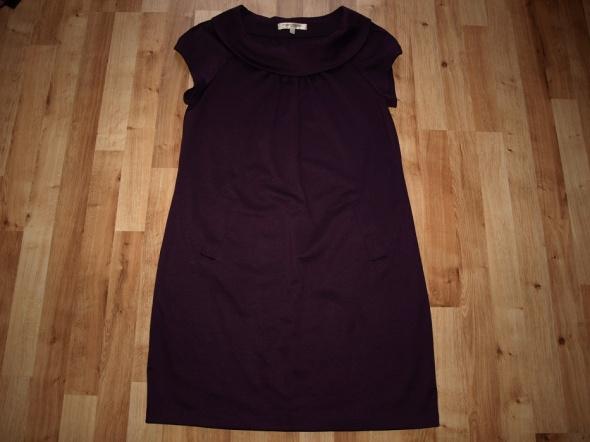 Śliwkowa sukienka L...