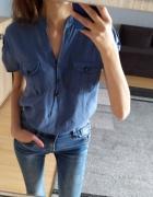Niebieska bluzka S...