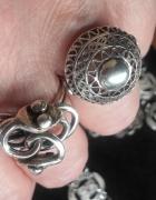 Imago ARTIS srebrny stary pierścionek kolułka unikat
