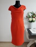 czerwona sukienka Next...