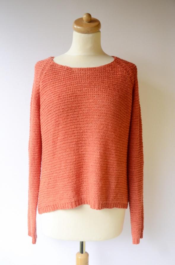 Sweter Pomarańczowy KappAhl 40 42 L XL Oversize