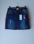 Nowa spódniczka z jeansu...