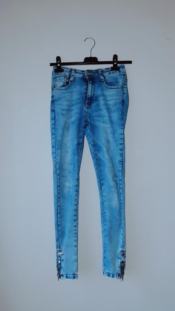 Idealne spodnie rurki xs