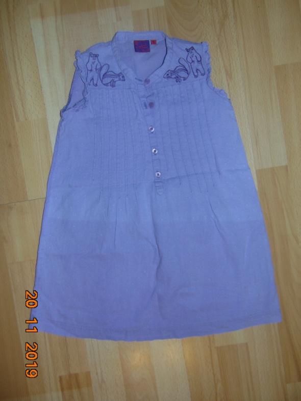 Triumph Elegancka Koszula Bluzka Fioletowa