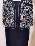 Sukienka elegancka dla mamy babci 46 48 3XL 4XL...