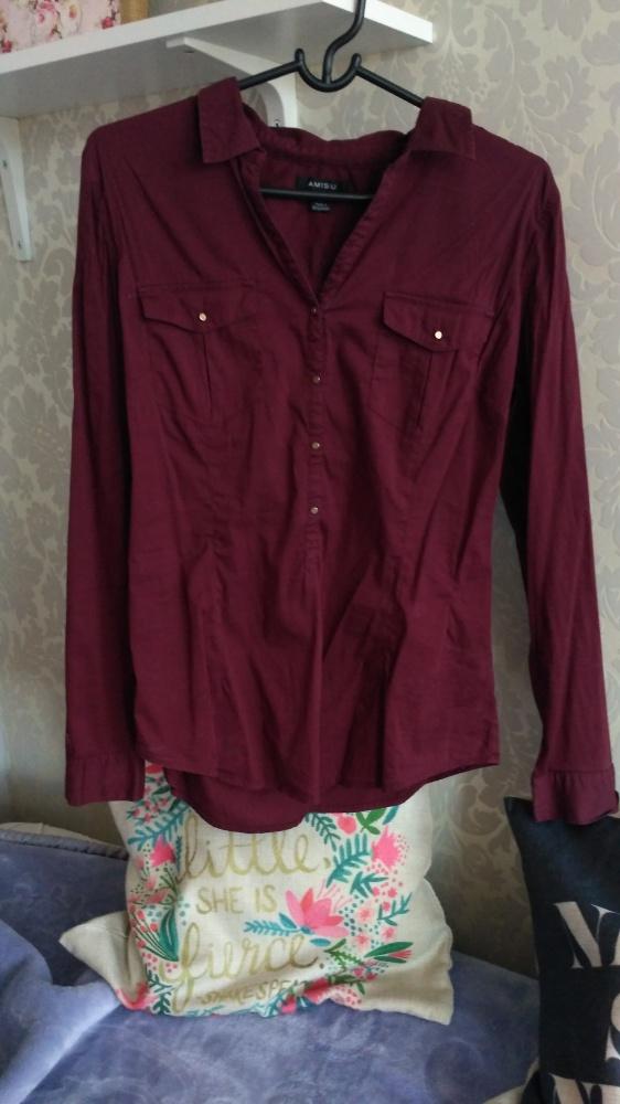Koszula bordowa amisu