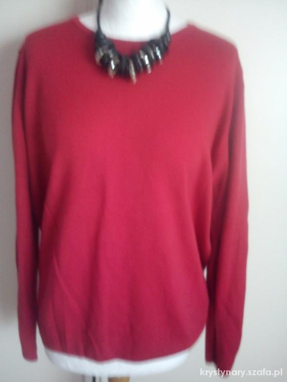 Milutki czerwony sweter 46