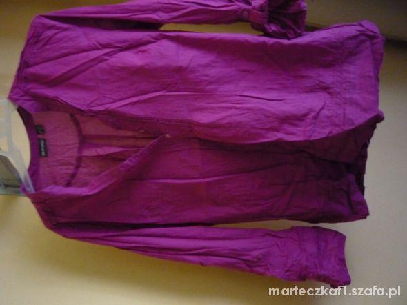 fukjowa bordowa koszula tunika esmara