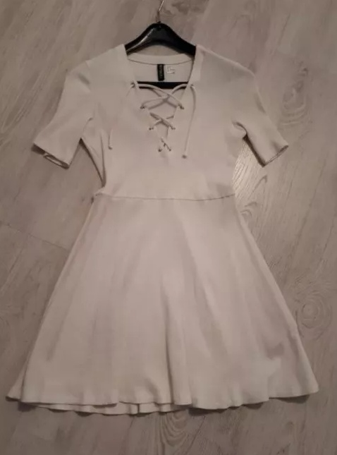 Sukienka Biała Amisu S