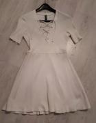 Sukienka Biała Amisu S...