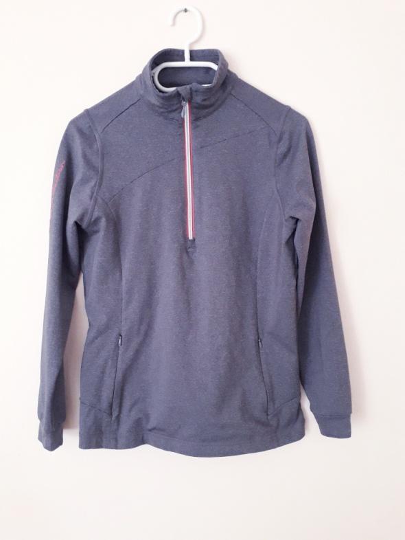 Bluzy Szara sportowa bluza