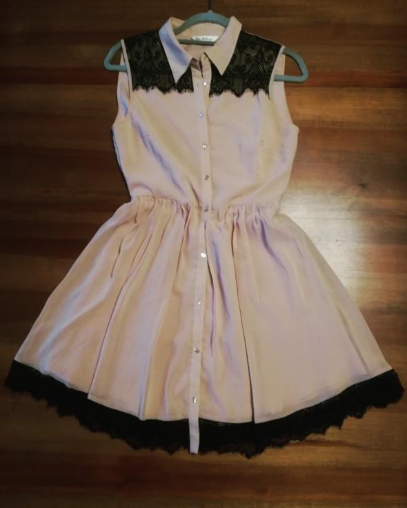 Suknie i sukienki Sukienka zapinana na guziki