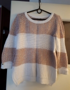 Piękny dziergany sweterek...