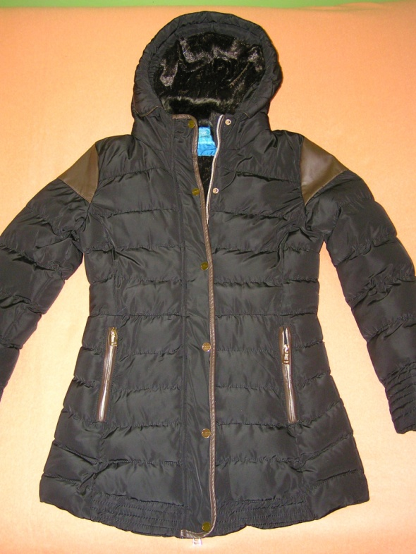Zimowa ciepła kurtka styl ZARA...