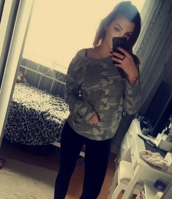 Bluzy Bluza moro Cropp M