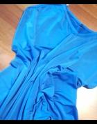 Chabrowa bluzka na ramiączka w rozmiarze S