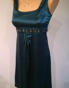 sukienka satynowa XS S...