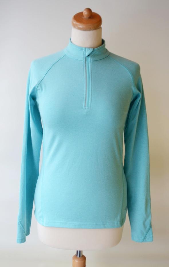 Bluzy Bluza Sportowa Bieganie Niebieska S 36 Frank Shorter Fitness