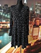 atmosphere sukienka modny wzór gwiazdy gwiazdki jak nowa 40 L...